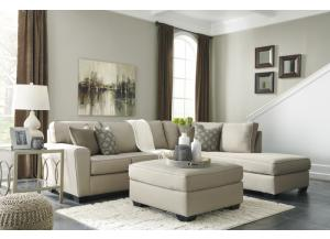 Calicho Ecru Sectional + Free TV