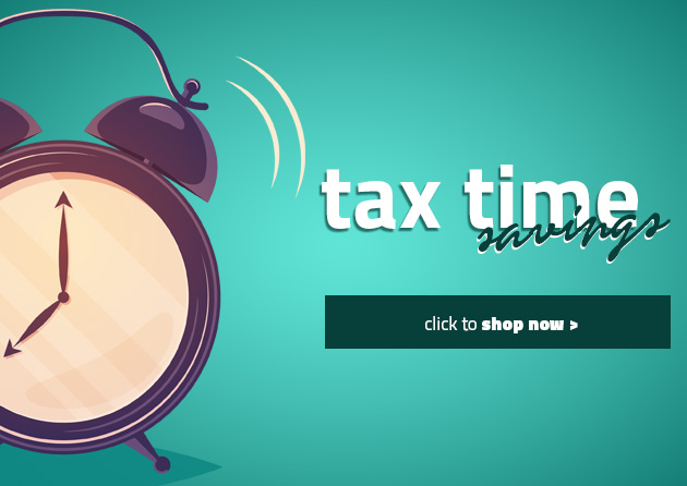 Tax Time Banner
