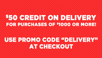 $50 Delivery Credit for Purchases of $1000 or More