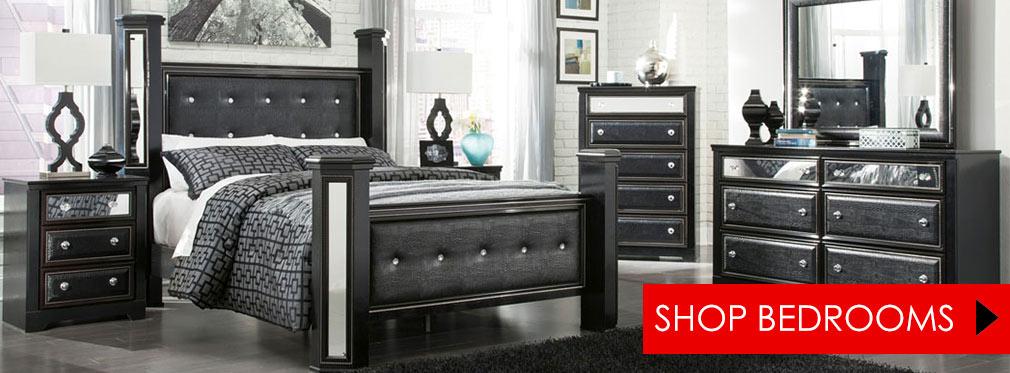 Alamadyre Queen/Full Upholstered Panel Headboard, Dresser U0026 Night Stand ...
