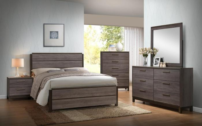 LANGLEY QUEEN BEDROOM SET,XLNC Xclusives