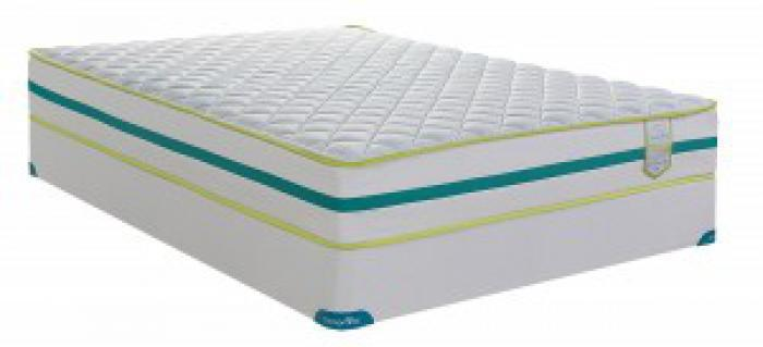 CAPTIVATE CHIROPRACTIC QUEEN SIZE MATTRESS & BOXSPRING,SPRINGWALL