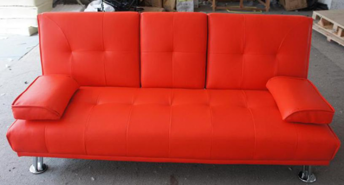 RAYMOND FUTON RED PU,XLNC Xclusives