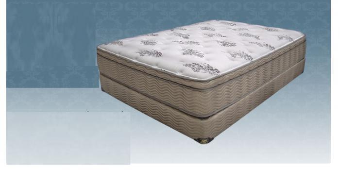GREEN BOROUGH QUEEN SIZE MATTRESS AND BOXSPRING ,KING KOIL
