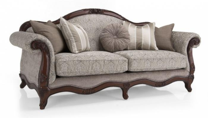 CARLIN FABRIC SOFA.,DECOR-REST