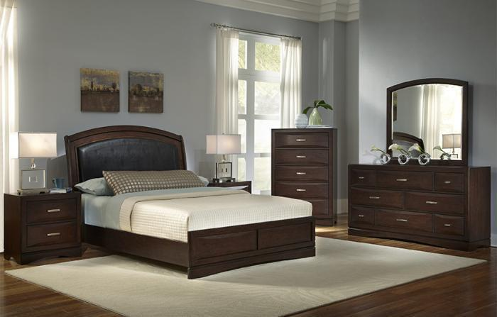 BEVERLY BED FRAME, DRESSER, MIRROR, NIGHT STAND,NAJARIAN FURNITURE