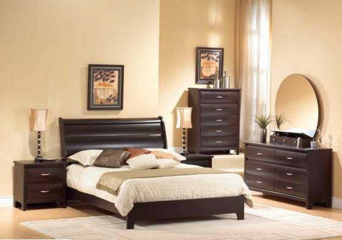 FREDRICK QUEEN BED, DRESSER, MIRROR & NIGHTSTAND,XLNC Xclusives