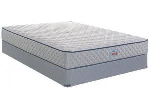 CALM CHIROPRACTIC QUEEN SIZE MATTRESS & BOXSPRING