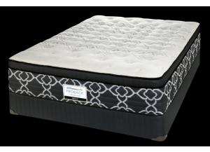 EDINA POSTUREPEDIC QUEEN SIZE MATTRESS & BOX SPRING