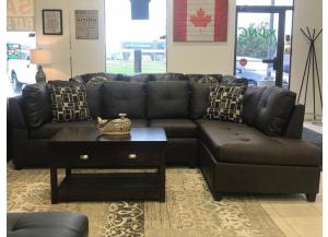 6155 BROWN SECTIONAL