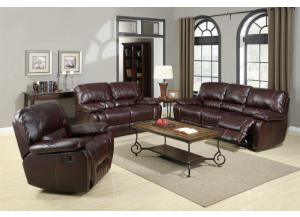 TALBOT 3 PIECE RECLINING SOFA SET