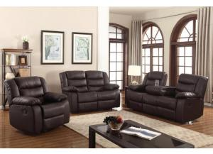 5100 3 PC RECLINING SOFA SET