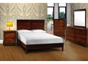 BELMONT QUEEN BEDROOM SET,XLNC Xclusives