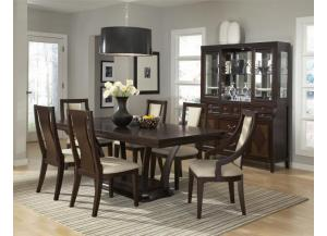 NEWPORT 7 PIECE DINNING SET