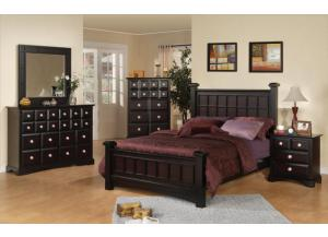 PALAZZO BED FRAME, DRESSER, MIRROR, NIGHT STAND