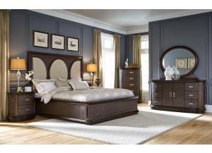 OBSESSIONS BED FRAME, DRESSER, MIRROR, NIGHT STAND