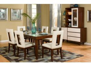 ENZO 7 PIECE DINNING SET