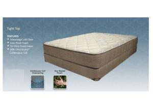 ANCHORAGE TWIN MATTRESS AND BOXSPRING