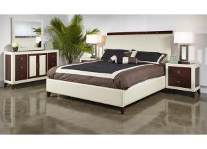 ZENO BED FRAME, DRESSER, MIRROR, NIGHT STAND