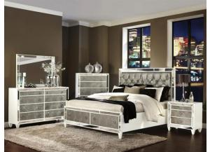 MONROE COLLECTION 5 PIECE QUEEN SIZE BEDSET