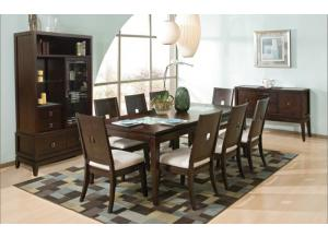 SPIGA 7 PIECE DINNING SET
