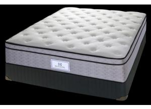DALIA POSTUREPEDIC QUEEN SIZE MATTRESS & BOX SPRING.