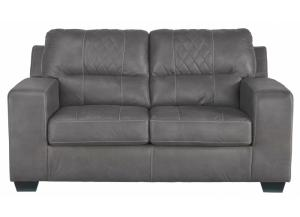 Narzole Gray Loveseat