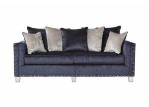 Bliss Navy Sofa