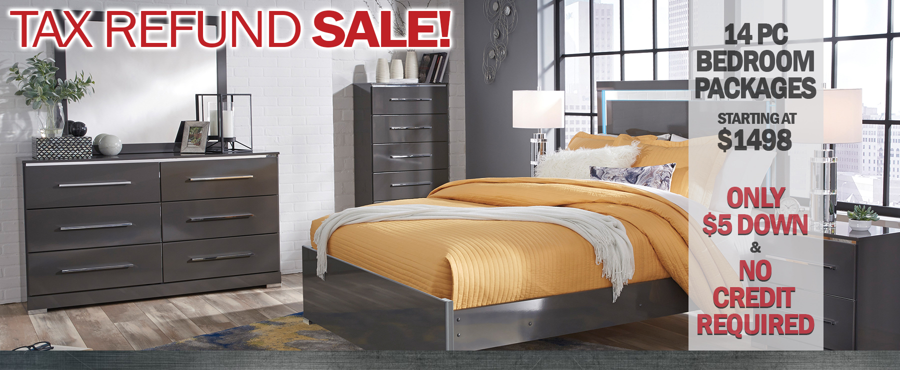 5th Avenue Furniture Fall Specials for Bedroom Packages