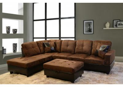 Image for Brown Sectional