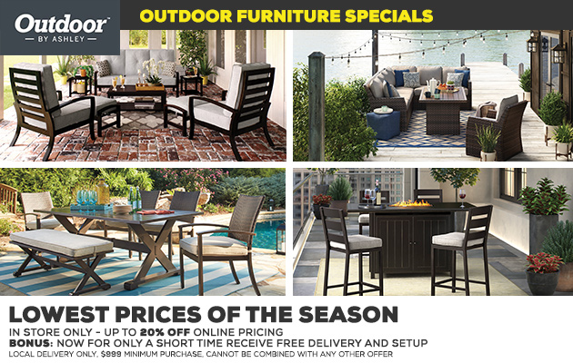 Outdoor Furniture Specials
