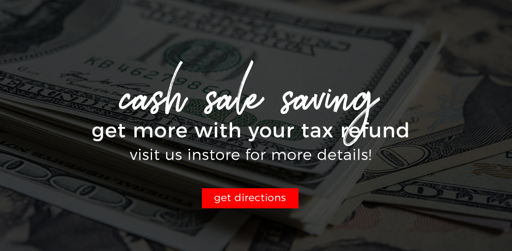 Cash Sale Saving
