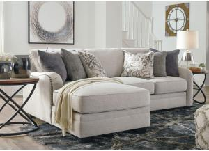 Dellara Chak left chaise sectional