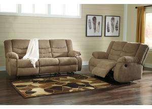 Image for Ash tulen mocha reclining sofa & love seat