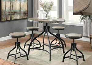 Image for Hi Dining Table w/4 Stools