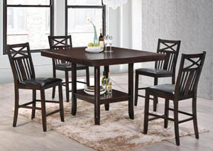 Hi Dining Table w/4 Chairs