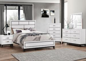 B4610 Queen Bed, Dresser, Mirror and Nightstand