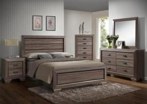 Farrow Queen Bed, Dresser, Mirror and Nightstand