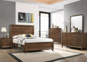 Darryl Queen Bed, Dresser, Mirror and Nightstand