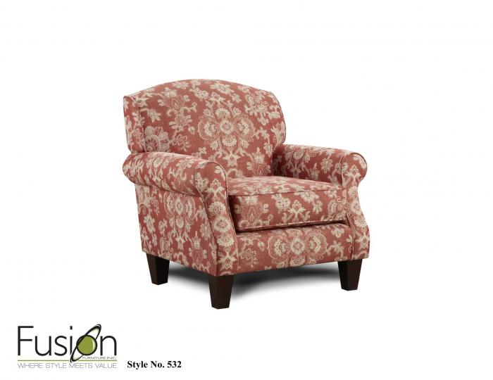 Bedoya Pepper Accent Chair,Fusion Furniture