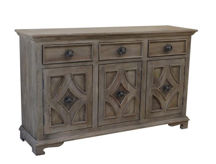 Khetri Smoke Grey Sideboard