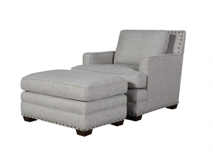 Riley Chair and Ottoman,Universal