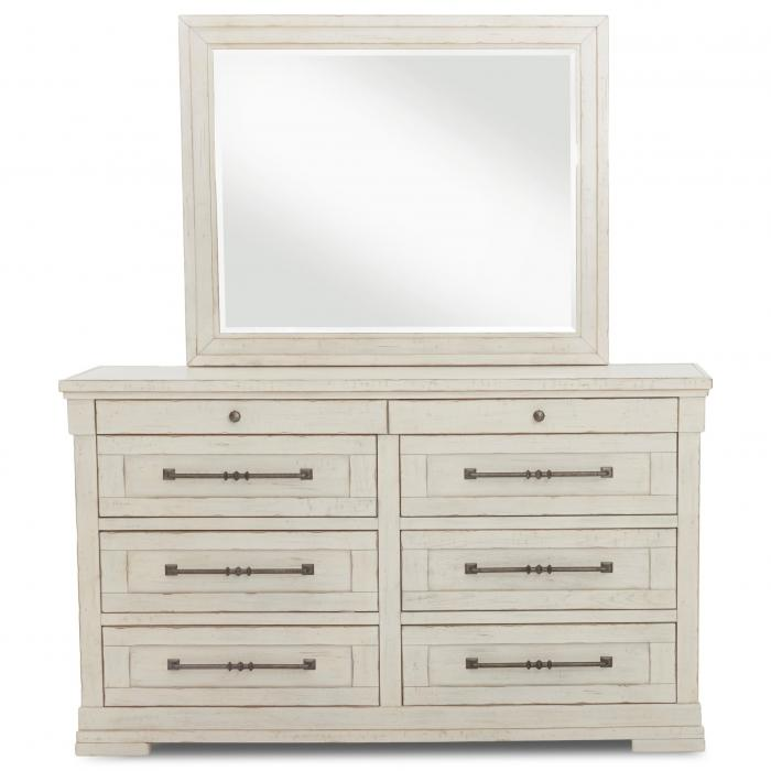 Trisha Yearwood's Coming Home Dresser and Mirror,Klaussner