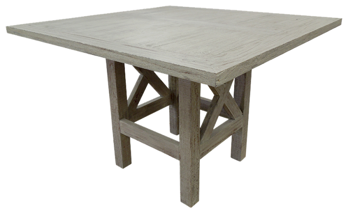 Urban Industrial Counter Height Table in Toscano Grey,Texas Rustic