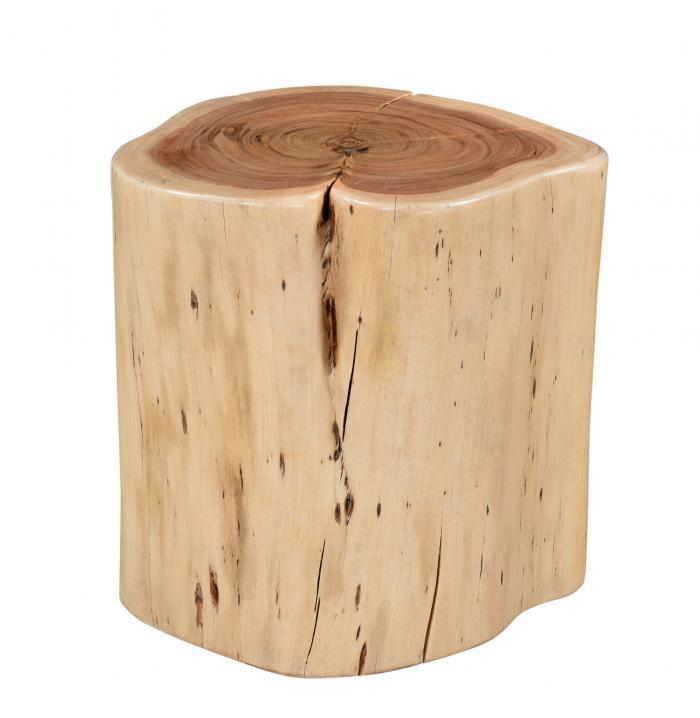 Timberline Natural Stool,Coast to Coast Imports