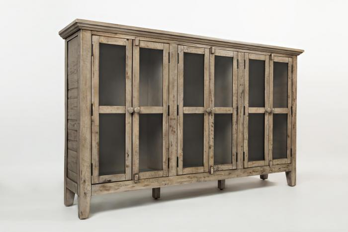 "Rustic Shores Weathered Grey 70"" Accent Cabinet,Jofran"