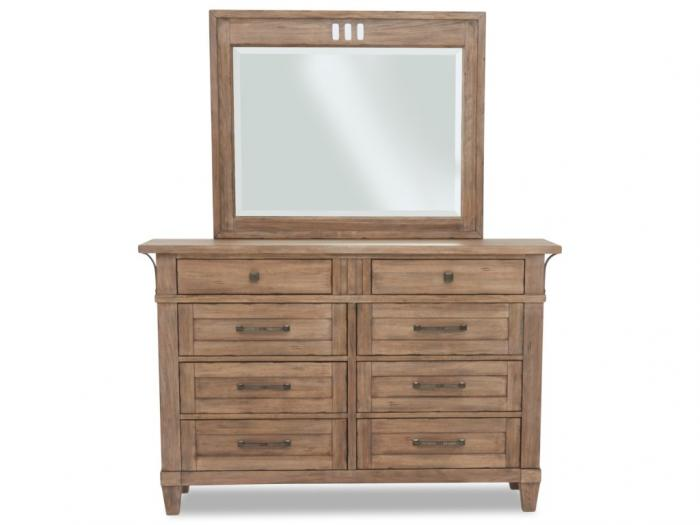 Reflections Dresser and Mirror,Klaussner