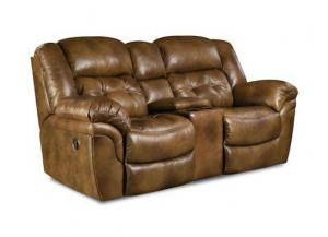 Cheyenne Saddle Reclining Loveseat