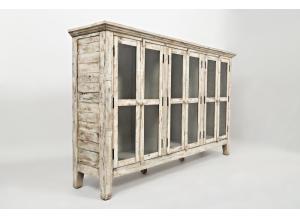 "Image for Rustic Shores Scrimshaw 70"" Accent Cabinet"