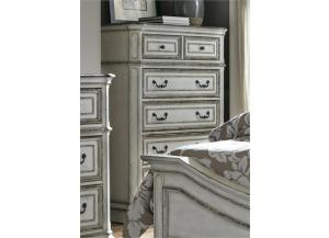 Image for Magnolia Manor 5 Drawer Chest